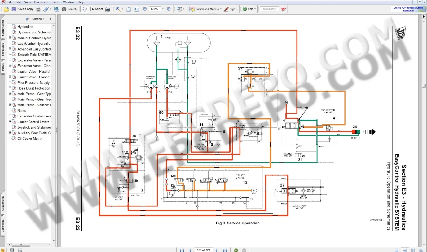 jcb wiring diagram  | 1240 x 1753