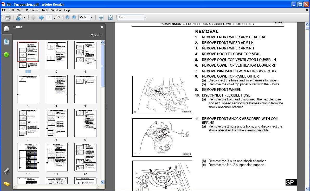 Toyota Tarago Workshop Manual Free Download Kt76a Wiring Diagram Pdf 07