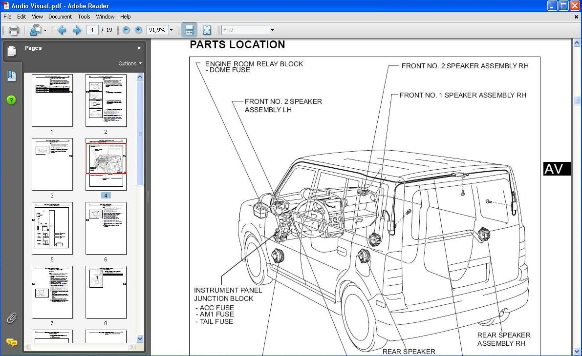 2012 Scion Xb Workshop Manual Download